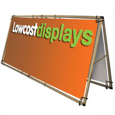 Outdoor portable graphic displays