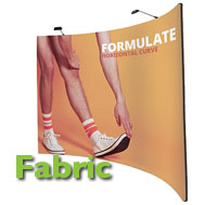 Fabric pop up exhibtion show display stand