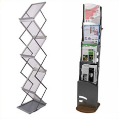 Cheap literature & leaflet stands