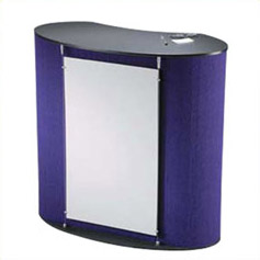 Portable furniture & graphic podium displays